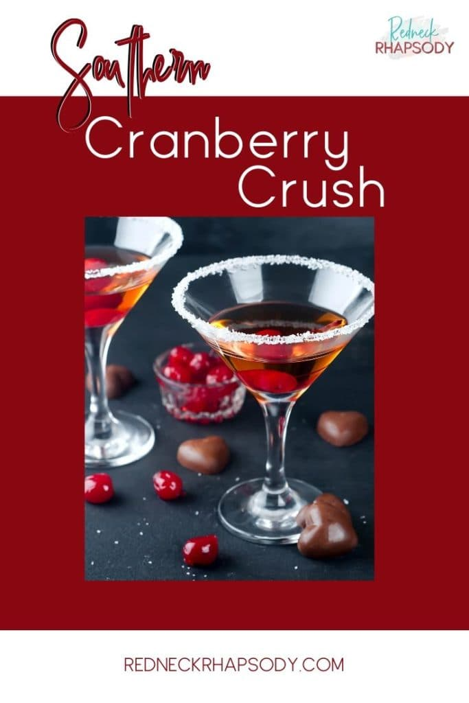 Southern Cranberry Crush with fresh cranberries