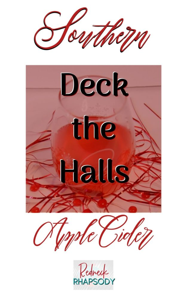 Southern Deck the Halls pin 2.