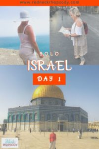 Being solo in Israel was amazing - Dead Sea, Jerusalem and Temple Mount