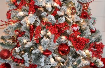 11 Things You Need to Know When Getting and Decorating a Flocked Tree