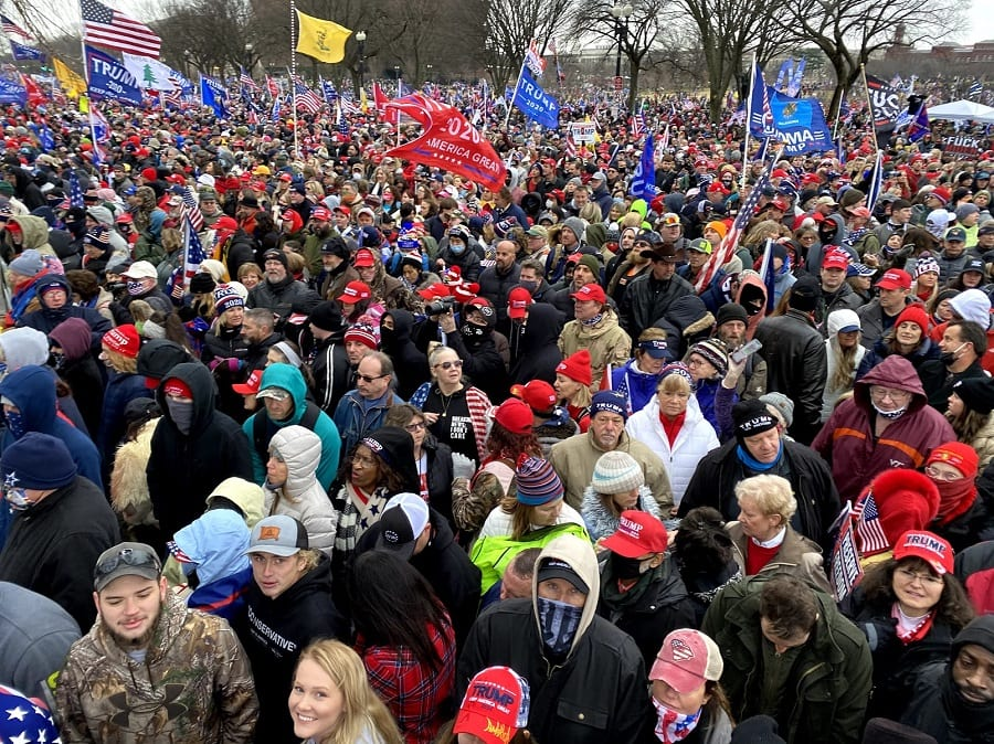 Patriots showed up in Washington DC to stand for truth.